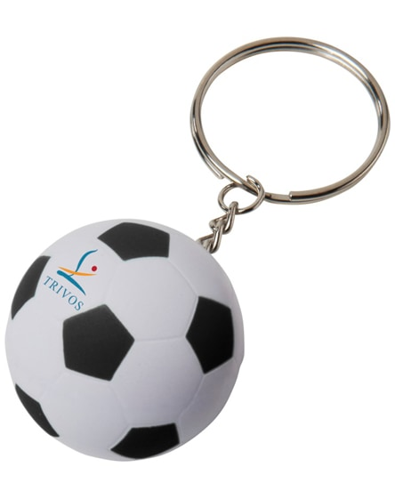 branded striker football keychain