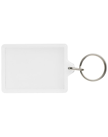 branded vito c1 rectangular keychain