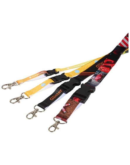 branded balko sublimation lanyard - single side