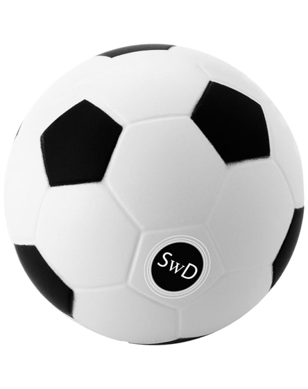 branded football stress reliever