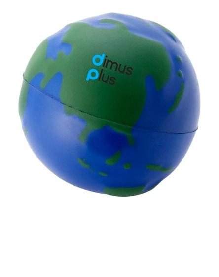 branded globe stress reliever