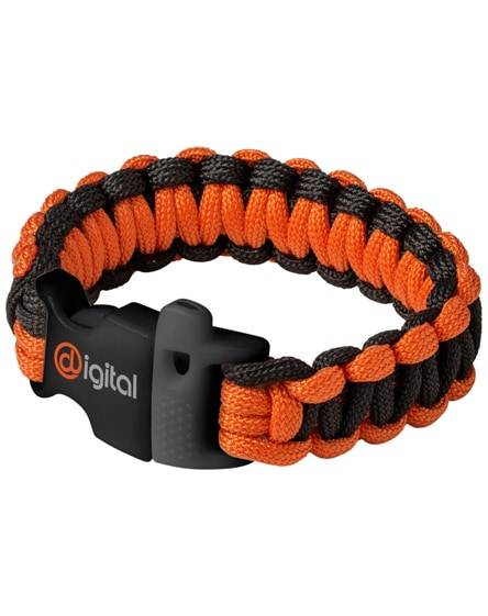 branded elliott emergency paracord bracelet
