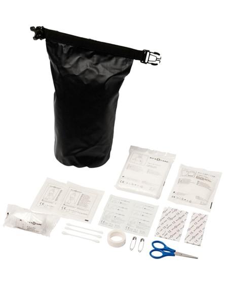 branded alexander 30-piece first aid waterproof bag