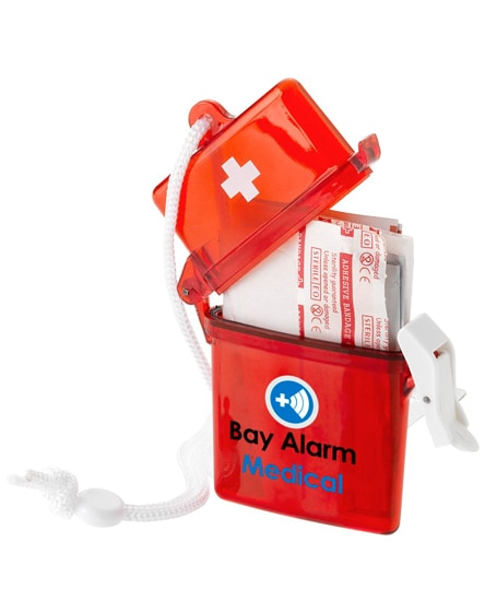 branded haste 10-piece first aid kit