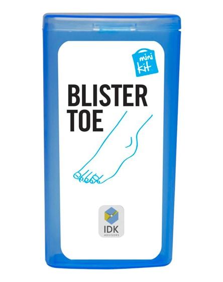 branded minikit toe blister plasters