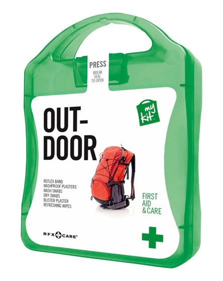 branded mykit outdoor first aid kit