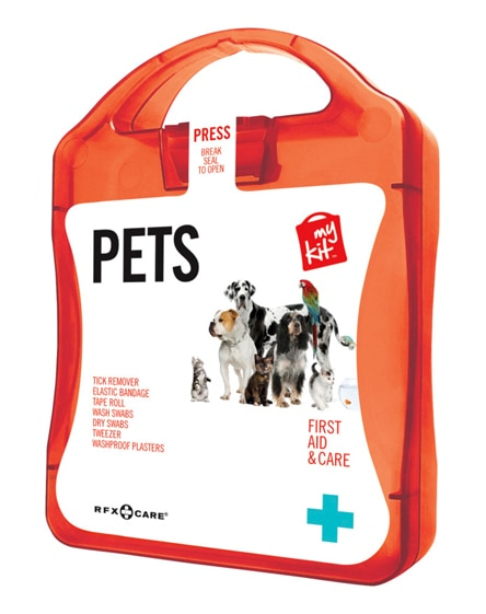 branded mykit pet first aid kit