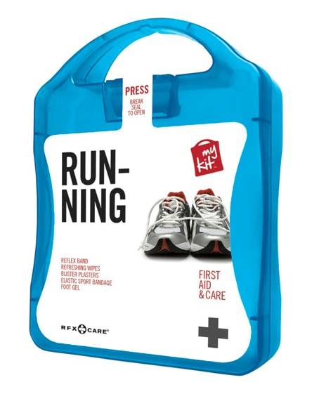 branded mykit running first aid kit