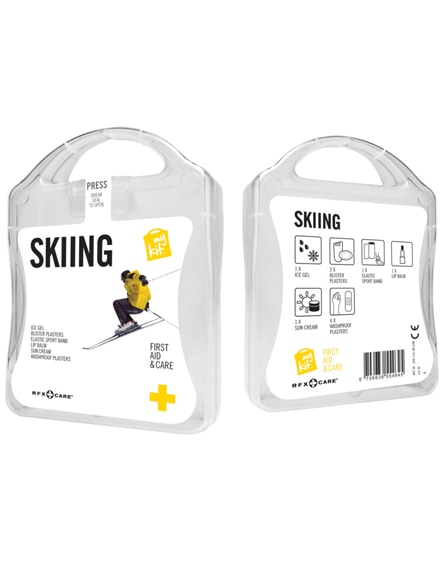 branded mykit skiing first aid kit