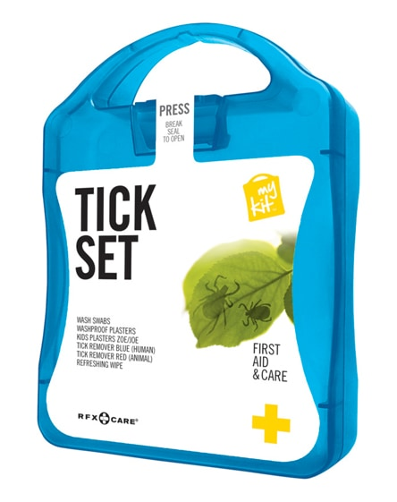 branded mykit tick first aid kit