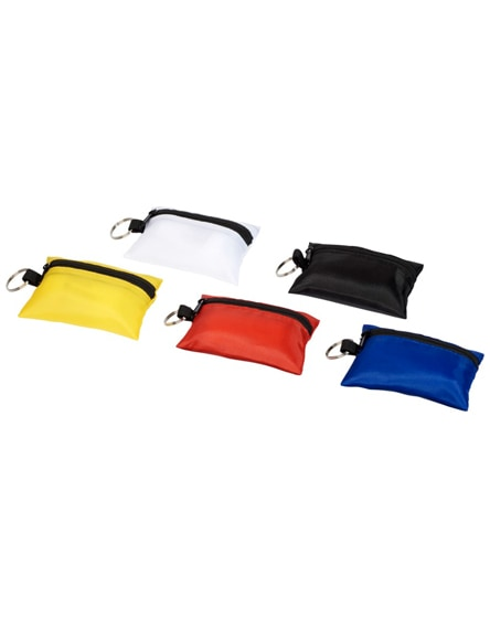 branded valdemar 16-piece first aid keyring pouch