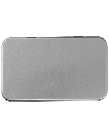 branded vincent 12-piece first aid tin box