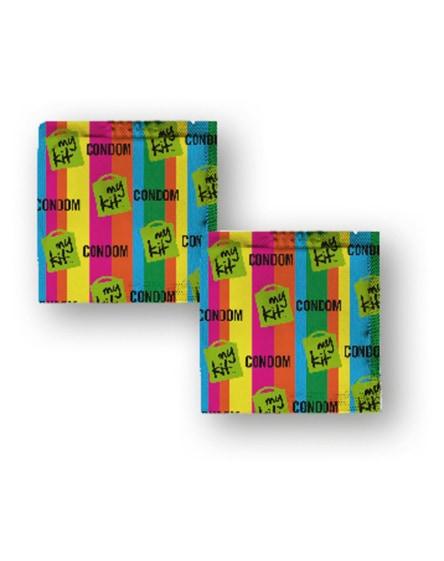 branded minikit condoms