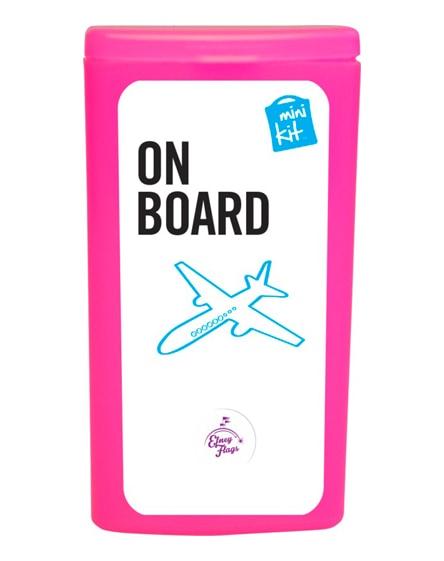 branded minikit on board travel set