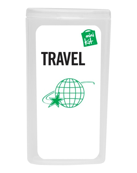 branded minikit travel set