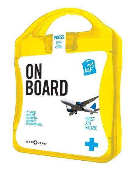 branded mykit on board travel set