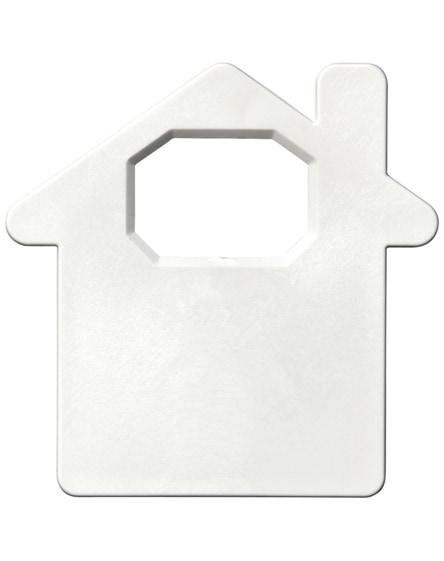 branded condo house-shaped bottle opener