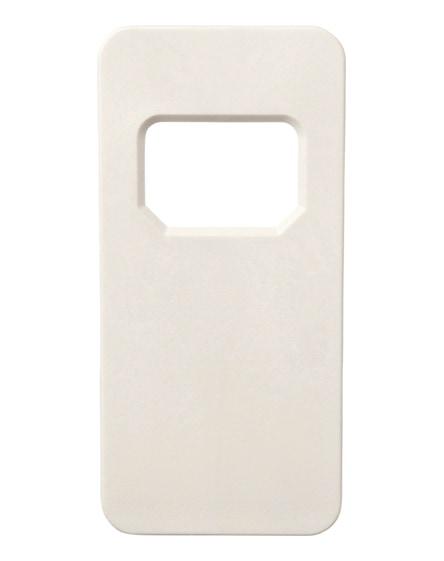 branded ojal rectangular-shaped bottle opener