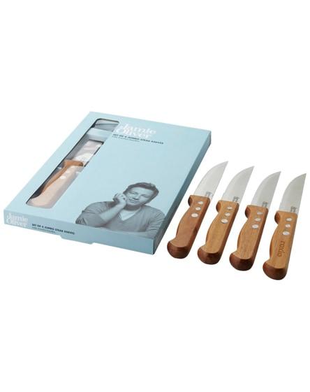 branded dublin 4-piece jumbo steak knife set