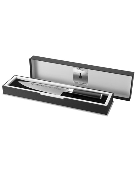 branded finesse chef's knife