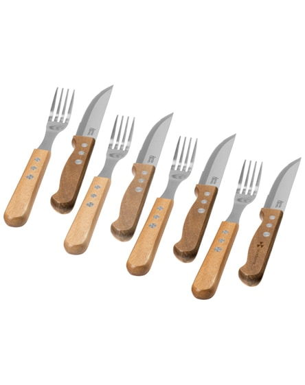 branded jumbo 8-piece cutlery set