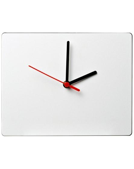 branded brite-clock rectangular wall clock