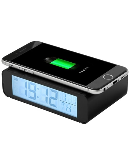 branded seconds wireless charging clock