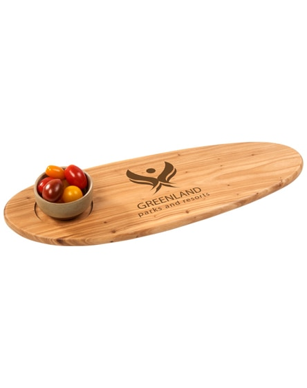 branded bolton bruschetta serving board