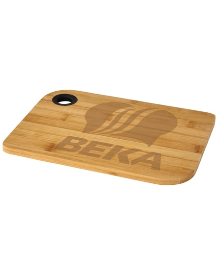 branded main wooden cutting board