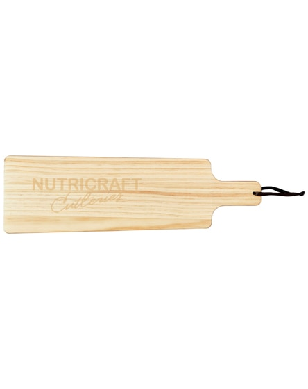 branded medford wooden serving board