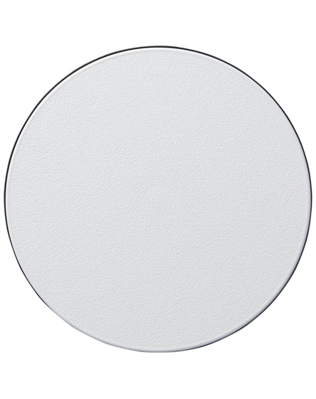branded brite-mat round coaster with tyre material