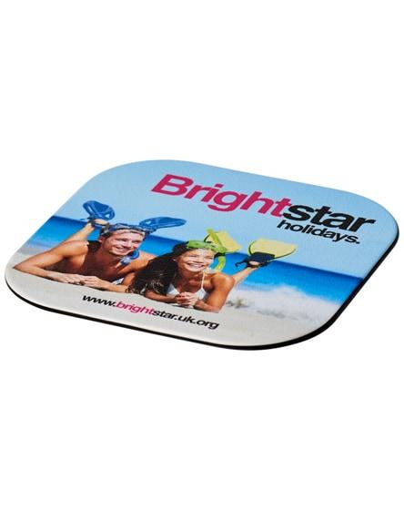 branded brite-mat square coaster