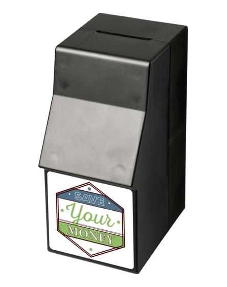 branded capital atm-shaped plastic money box