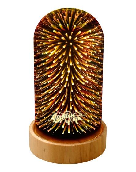 branded cosmique lighting cloche