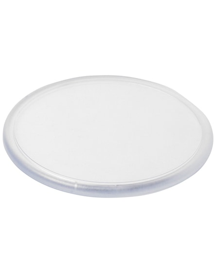 branded ellison round plastic coaster with paper insert