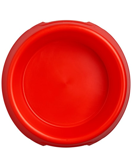 branded jet plastic dog bowl