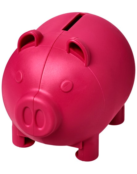branded oink small piggy bank