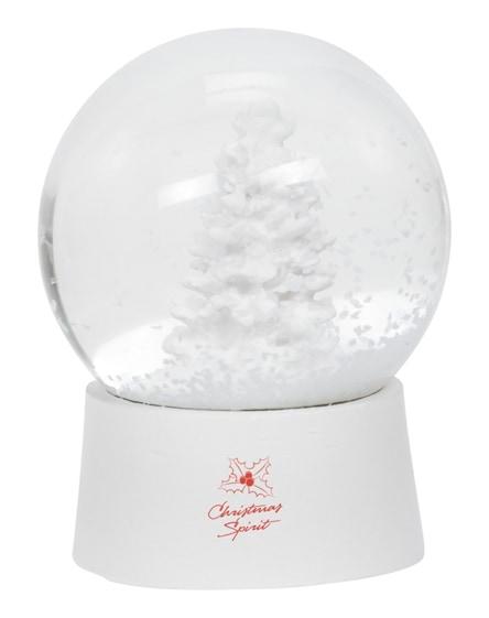 branded snow globe