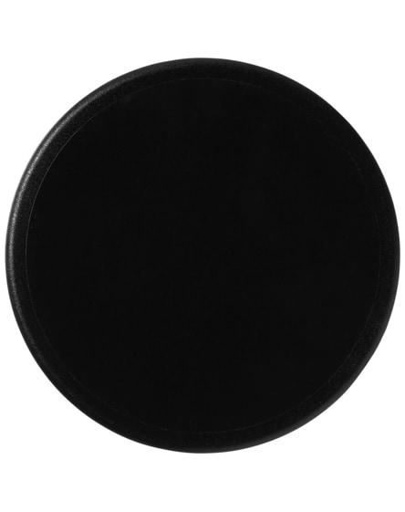 branded terran round coaster with 100% recycled plastic