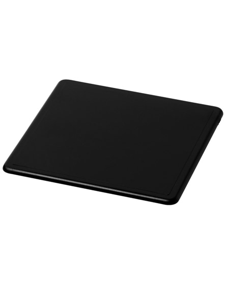 branded terran square coaster with 100% recycled plastic