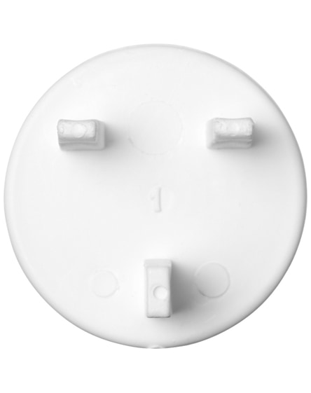 branded tully 3-point pin plastic plug cover uk