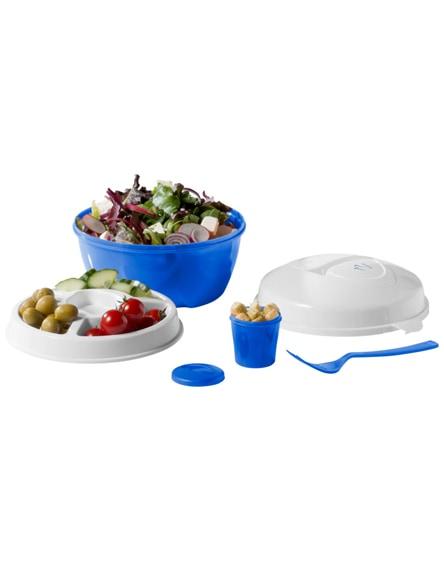 branded ceasar salad bowl set