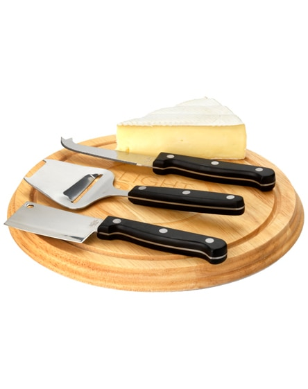 branded fort 4-piece cheese serving gift set
