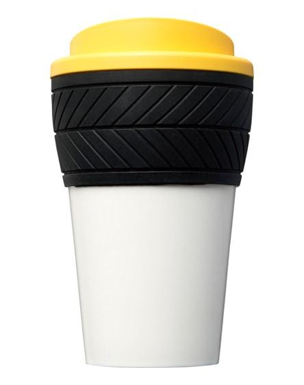 branded brite-americano tyre insulated tumbler