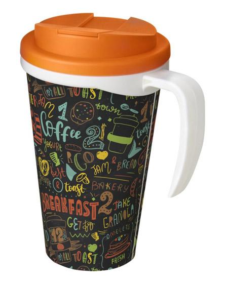 americano mugs handle spill proof lids colour