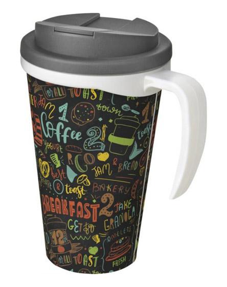americano reusable mugs handle spill proof lids
