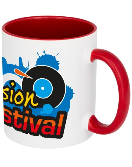 branded pix ceramic sublimation colour pop mug