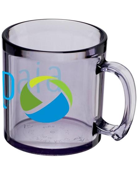 branded standard plastic mug