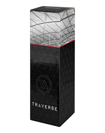 branded traverse vacuum insulated tumbler