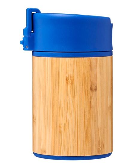 branded arca leak-proof copper vacuum bamboo tumbler